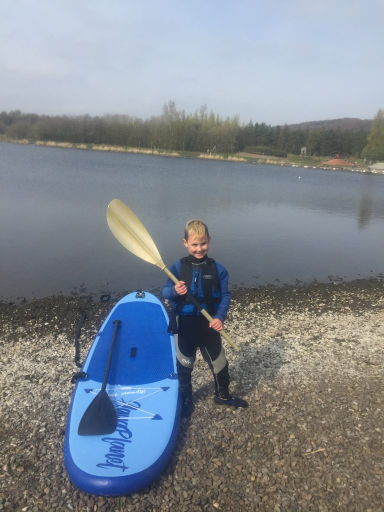 Golden Paddle paddleboarding Lochore
