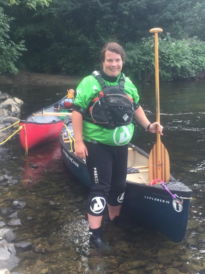 Canoeing River Tay
