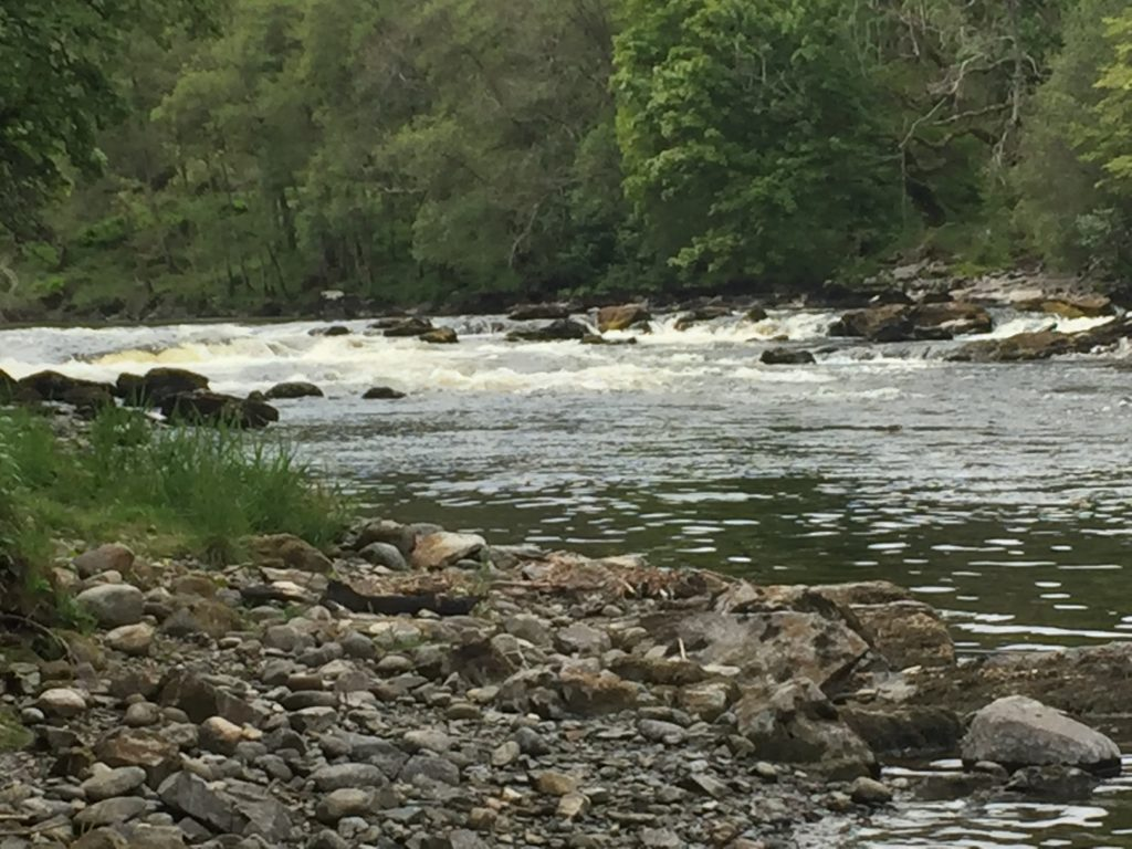 Grandtully rapids on the River Tay