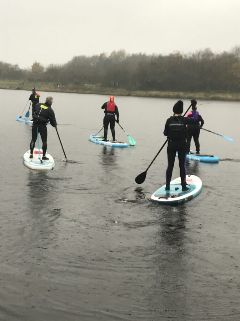 advanced SUP lesson